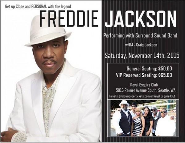 Freddie Jackson Postcard